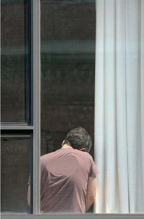 "Arne Svenson, The Neighbors #16, 2012, pigment print, 46 x 30"", ed. 5"