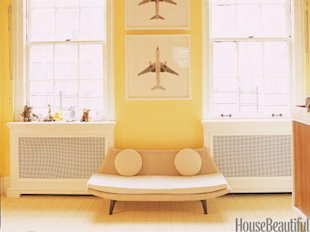 Cheery Yellow Bedroom
