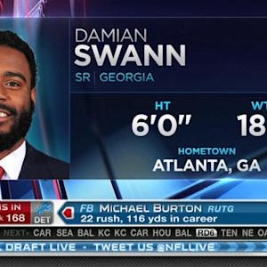 New Orleans Saints pick cornerback Damian Swann No. 167 in 2015 NFL Draft