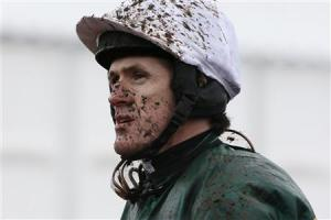 Tony McCoy is seen during the Cheltenham Festival horse racing meet in Gloucestershire