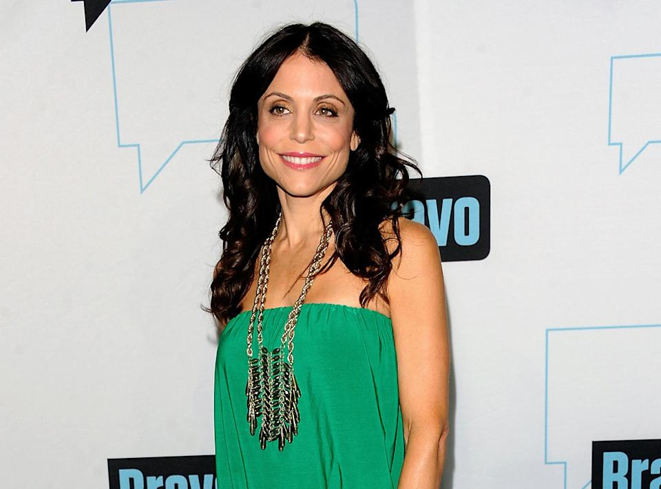 "FILE - This April 4, 2012 file photo shows TV personality Bethenny Frankel at the Bravo network 2012 upfront presentation in New York. Frankel's new talk show ""bethenny,"" premiers Monday, June 11 on select FOX-owned stations, including New York and Los Angeles.  (AP Photo/Evan Agostini)"