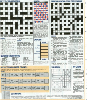 News of the World Staff Sneakily Mocks CEO in Crossword Puzzle