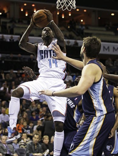 Streaking Grizzlies beat Bobcats 94-87