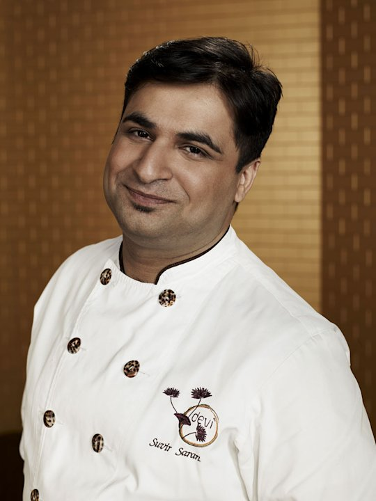 "Suvir Saran competes in ""Top Chef Masters."""