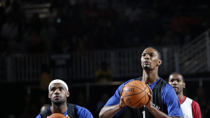 NBA: All Star Game-Team Practices