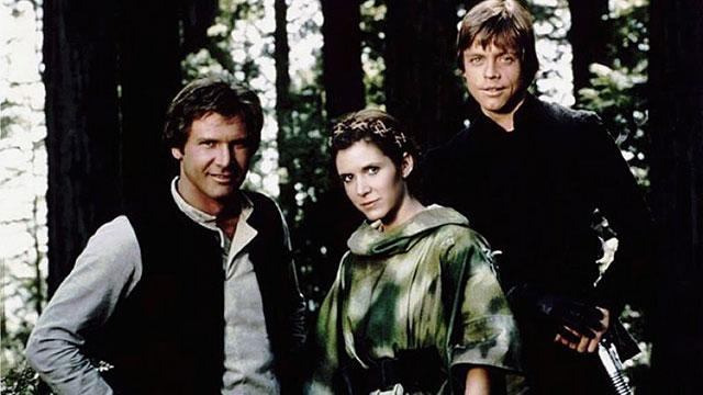 Lucas Slips, Confirms 'Star Wars' Trio Returning