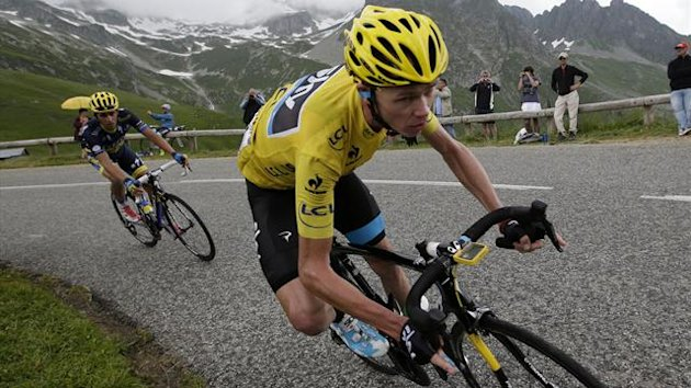 Chris Froome competes on the Tour (Reuters)
