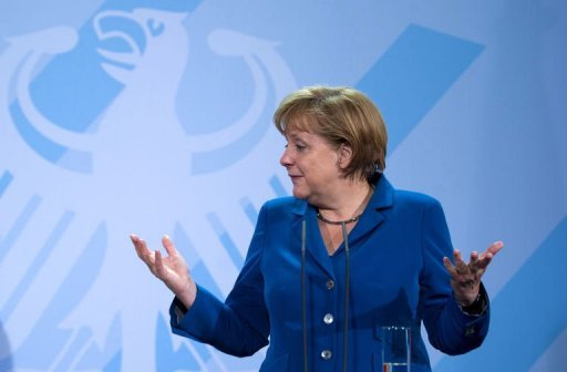 "<p>German Chancellor Angela Merkel said there were ""no concrete plans"" for the EU bailout funds to buy the bonds of struggling countries to drive down their borrowing costs.</p>"