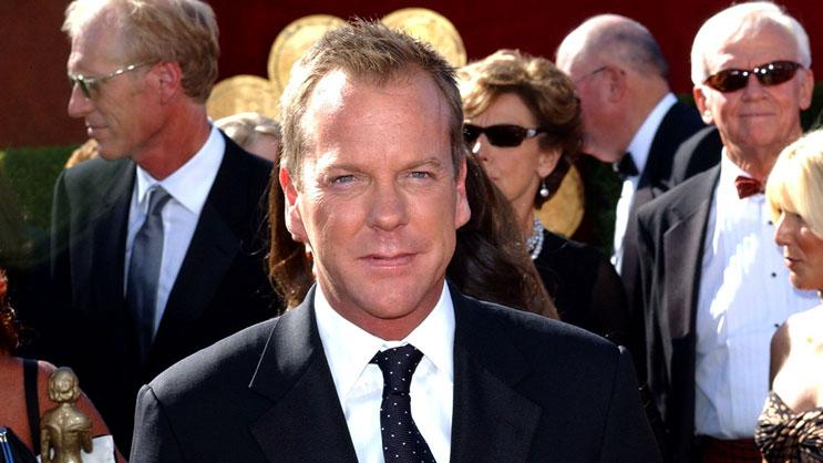 Kiefer Sutherland at The 58th Annual Primetime Emmy Awards.