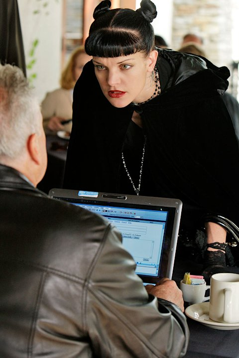 "Pauley Perrette stars as Agent Abby Sciuto in ""NCIS."""