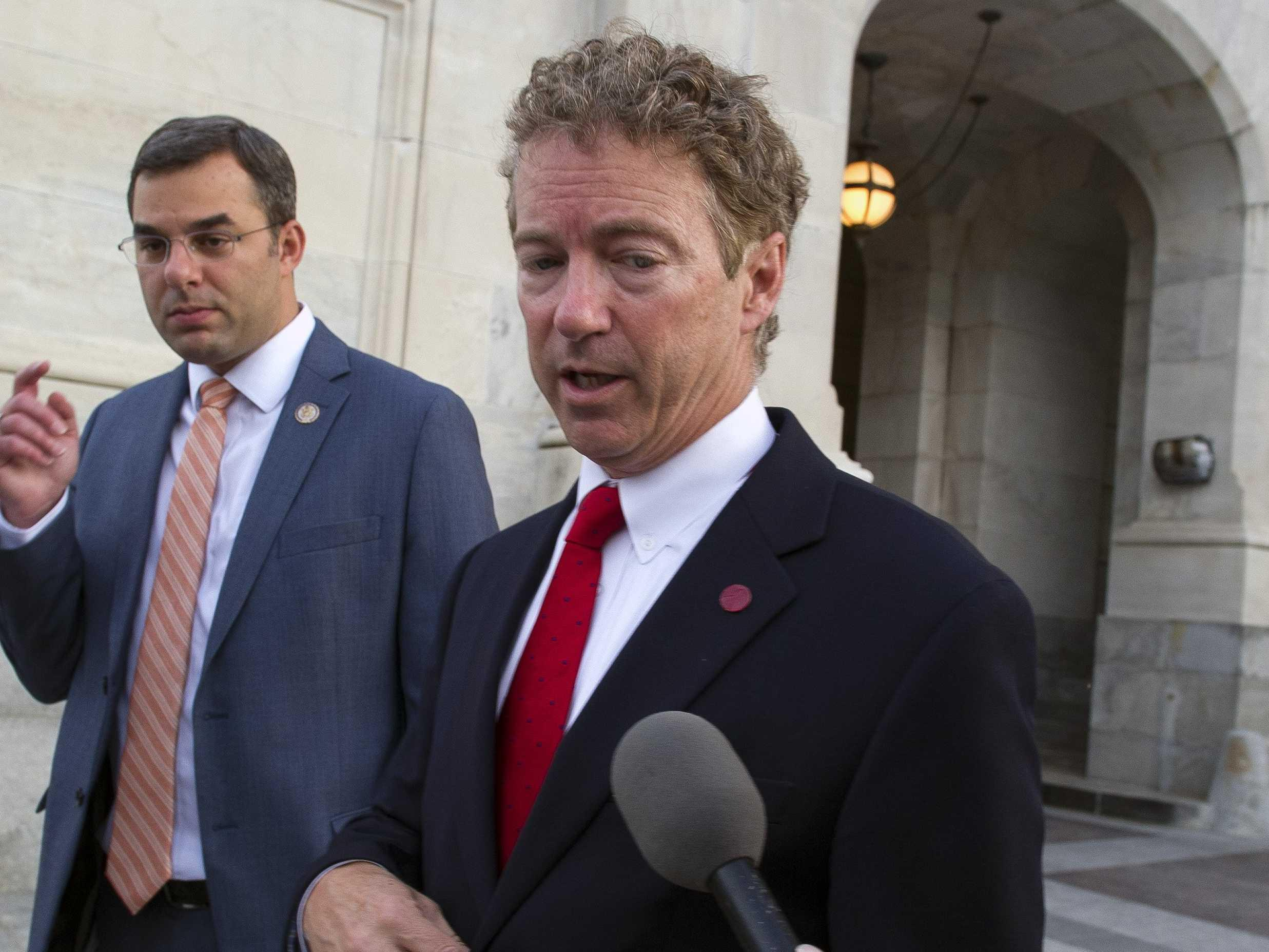 Republicans are torching Rand Paul for letting the Patriot Act expire