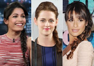 Freida Pinto, Kristen Stewart, Lea Michele