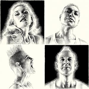 "This CD cover image released by Interscope Records shows the latest release for No Doubt, ""Push and Shove."" (AP Photo/Interscope)"