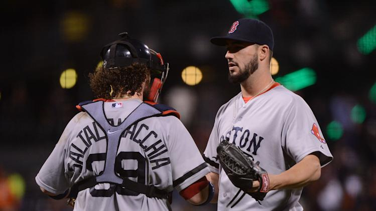 MLB: Boston Red Sox at San Francisco Giants