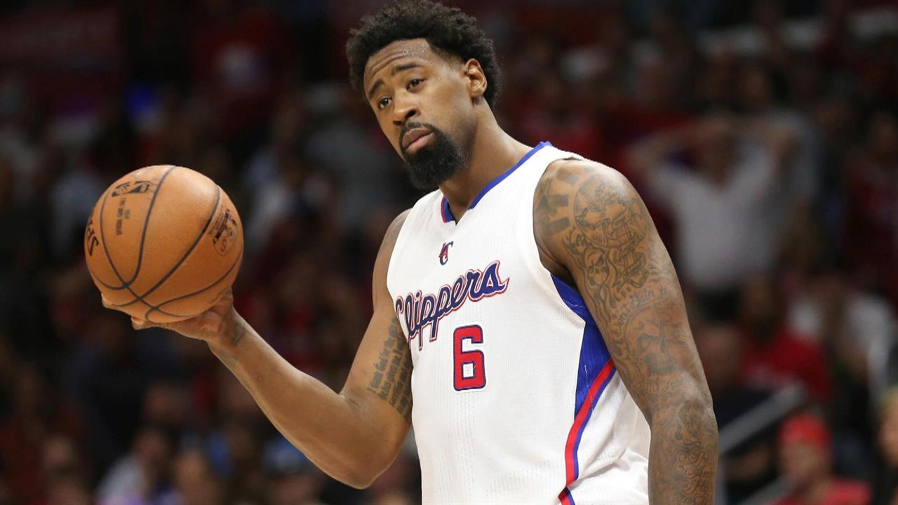 The 10-man rotation, starring DeAndre Jordan's '90-pound sandbag of regret'