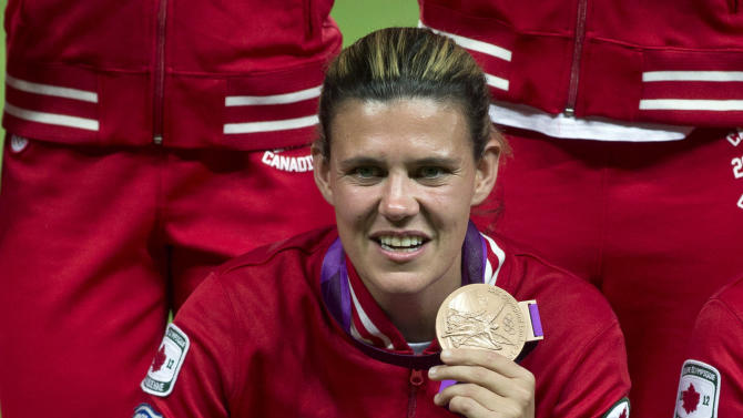 Canada women's soccer player Christine Sinclair