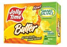 JOLLY TIME® Pop Corn Introduces Microwave Popcorn Made with the Smart Balance® Unique Blend of Oils
