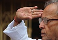 Powerful politician Pranab Mukherjee, pictured in June 2012, looked set to be elected India's new president on Sunday and analysts said the canny veteran could play a key role in steering the nation through testing times