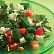 Watermelon & Goat Cheese Salad