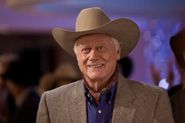 Larry Hagman as J.R. Ewing in 'Dallas' -- TNT