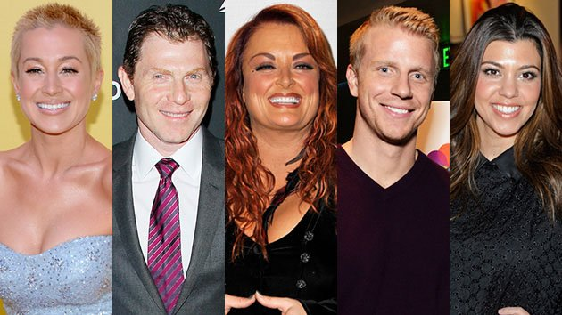 Kellie Pickler, Bobby Flay, Wynonna Judd, Sean Lowe, and Kourtney Kardashian