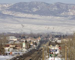 FILE - In this Feb. 10, 2011 file photo, downtown Vernal, …