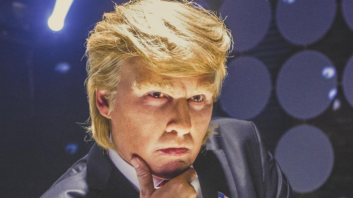 Watch Johnny Depp as Donald Trump in FunnyOrDie Film 'Art of the Deal'
