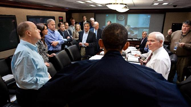 "FILE – In this May 1, 2011, file photo released by the White House, President Barack Obama talks with members of the his national security team in the White House Situation Room during one in a series of meetings to discuss the mission against Osama bin Laden. As the world now knows well Obama ultimately decided to launch the raid on the Abbottabad compound that killed bin Laden and 21 others though faced with a level of widespread skepticism from a veteran intelligence analyst, skepticism shared with other top-level officials, which nearly scuttled the raid. That process reflected a sea change within the U.S. spy community, one that embraces debate to avoid ""slam-dunk"" intelligence in tough national security decisions. (AP Photo/The White House, Pete Souza, File)"