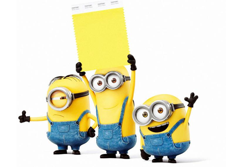 Pantone introduces its first new colour in three years: Minion Yellow
