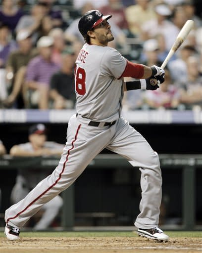 LaRoche, Zimmerman help Nationals rout Rockies
