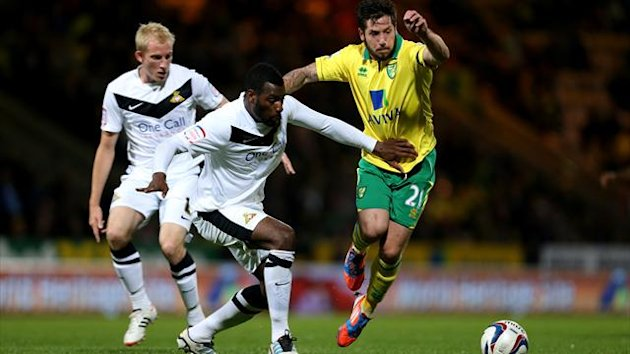 Norwich City's Jacob Butterfield