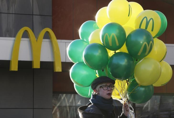 McDonald's to slow Russia expansion due to fall in rouble