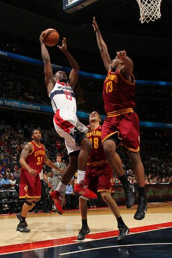 Harangody's 16 leads Cavaliers past Wizards, 98-89