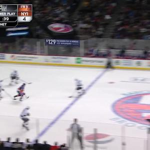 Hamonic's long empty-netter
