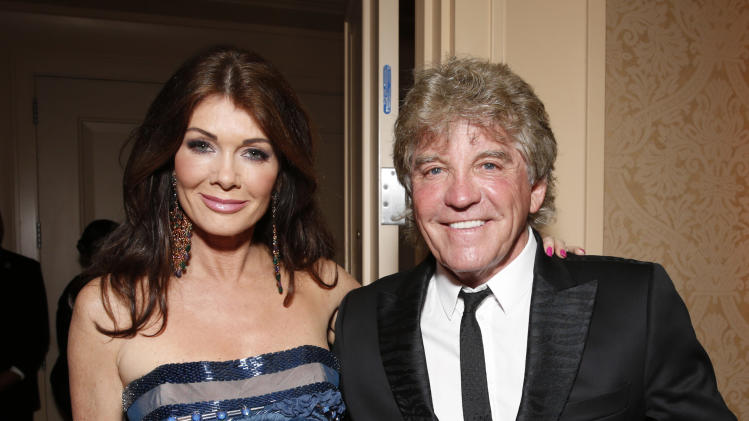 "IMAGE DISTRIBUTED FOR CARRY FOUNDATION - Lisa Vanderpump and Ken Todd attend the CARRY Foundation's 7th Annual ""Shall We Dance"" Gala at The Beverly Hilton Hotel on Saturday, May 11, 2013 in Beverly Hills, California. (Photo by Todd Williamson/Invision for CARRY Foundation/AP Images)"