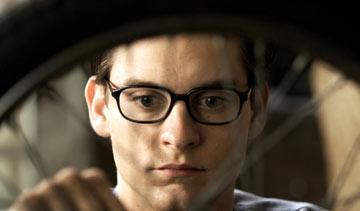 Tobey Maguire as Peter Parker in Columbia Pictures' Spider-Man 2
