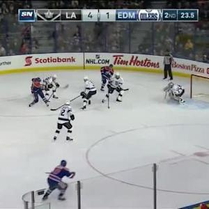 Jonathan Quick Save on Teddy Purcell (19:38/2nd)