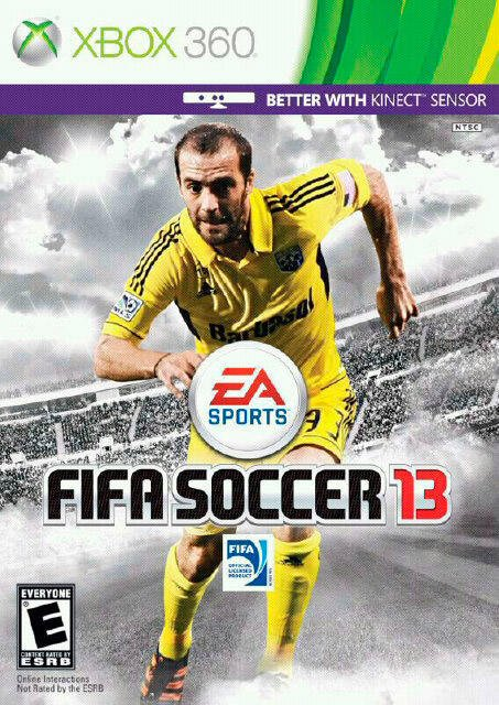 Federico Higua&#xed;n en la portada del FIFA 2013 (Fuente: Twitter de Gonzalo Higua&#xed;n)