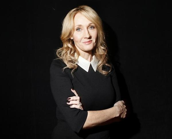 Author Rowling poses for a portrait while publicizing her adult ...