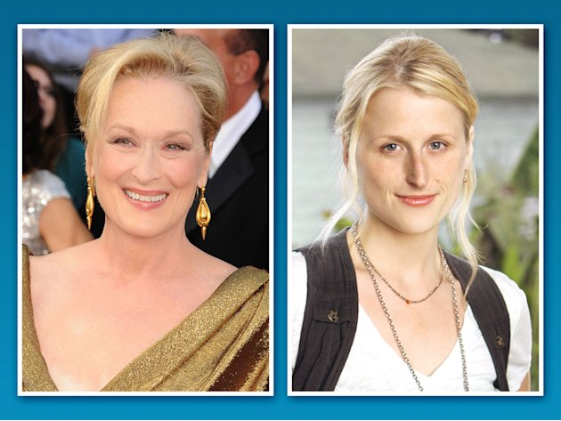 Meryl Streep and Mamie Gu …
