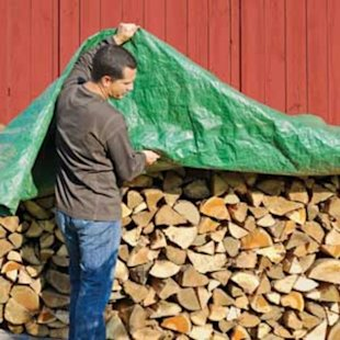 Buy firewood in the spring and season it yourself to save $100 per cord