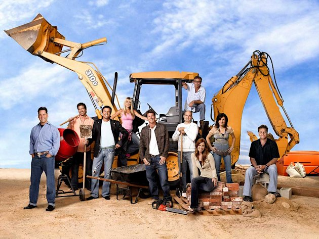 The cast of Extreme Makeover: Home Edition. 