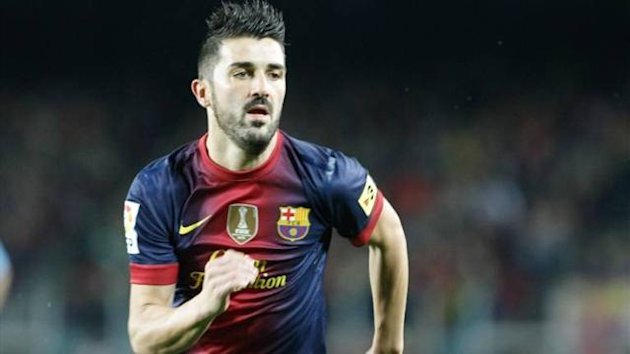 David Villa, FC Barcelona