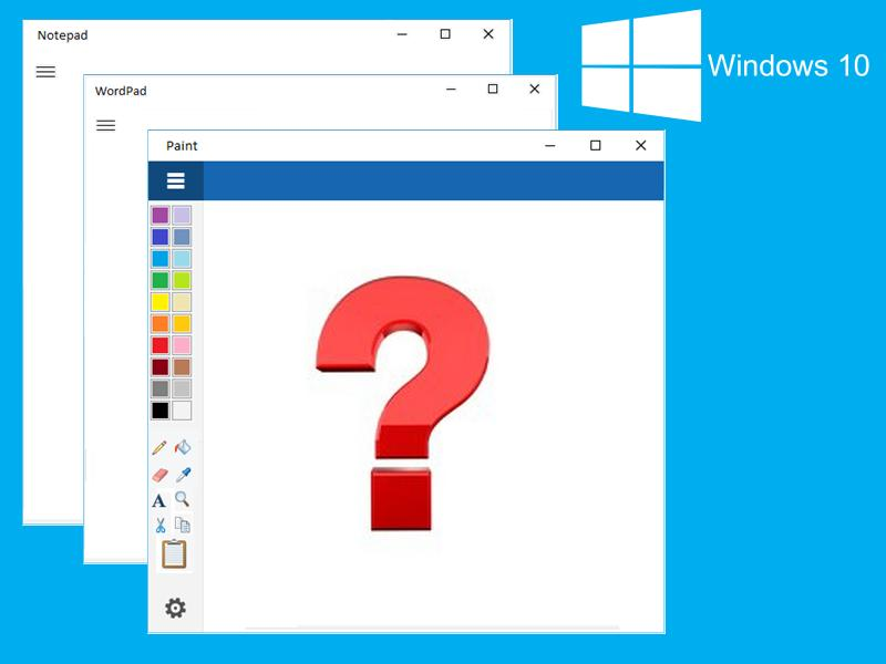 Should Microsoft replace the rest of Windows' native applications with modern apps?