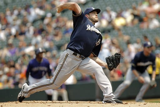 Rockies past Brewers in 9th for 7-6 win