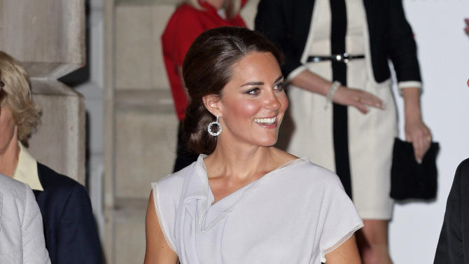 The Duchess Of Cambridge Attends The UK's Creative Industries Reception