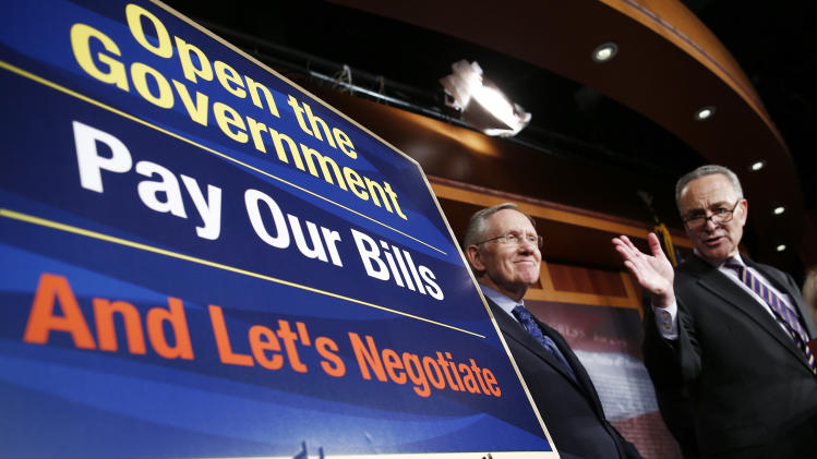 Dual crises: Shutdown, debt limit could merge