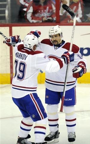 Resurgent Canadiens beat 'pathetic' Capitals 4-1
