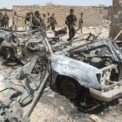 Islamic State Faces Battle In Iraq, Bombs In Syria