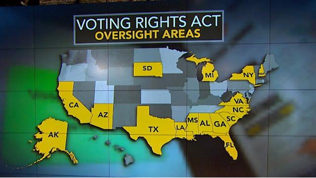 Civil rights-era voting law …